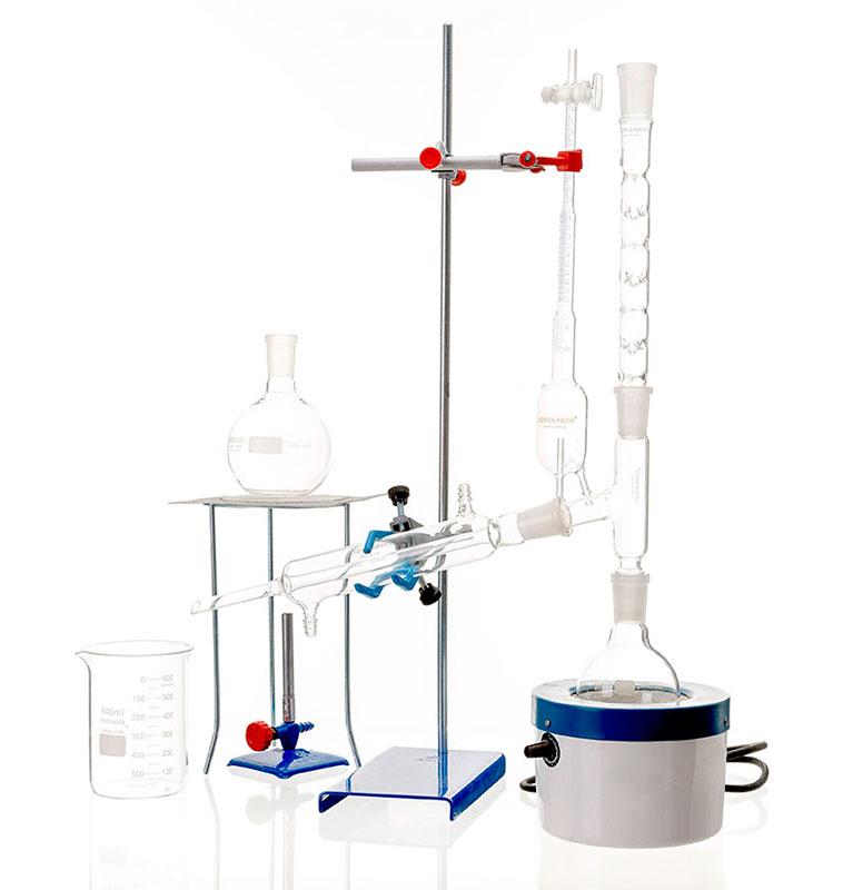 Material de laboratório vidraria