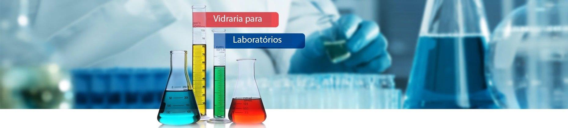 Vidraria para laboratório