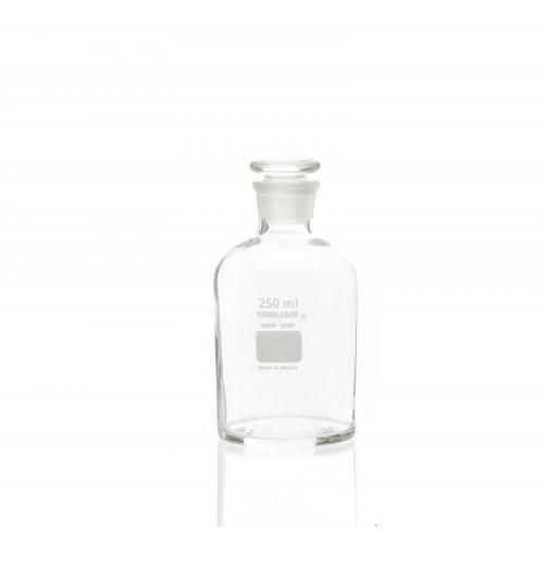 Frasco Reagente com rolha de vidro
